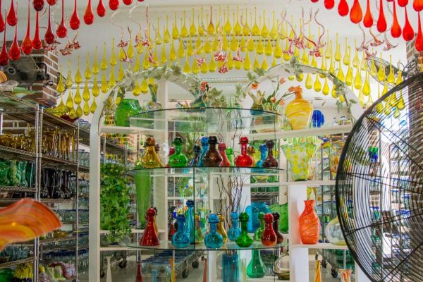 Blown Glass Factory Store