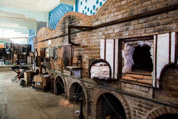 Blown Glass Factory Ovens