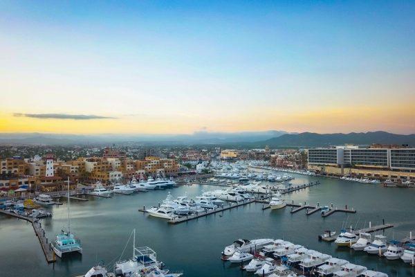 Los Cabos Dock Air View