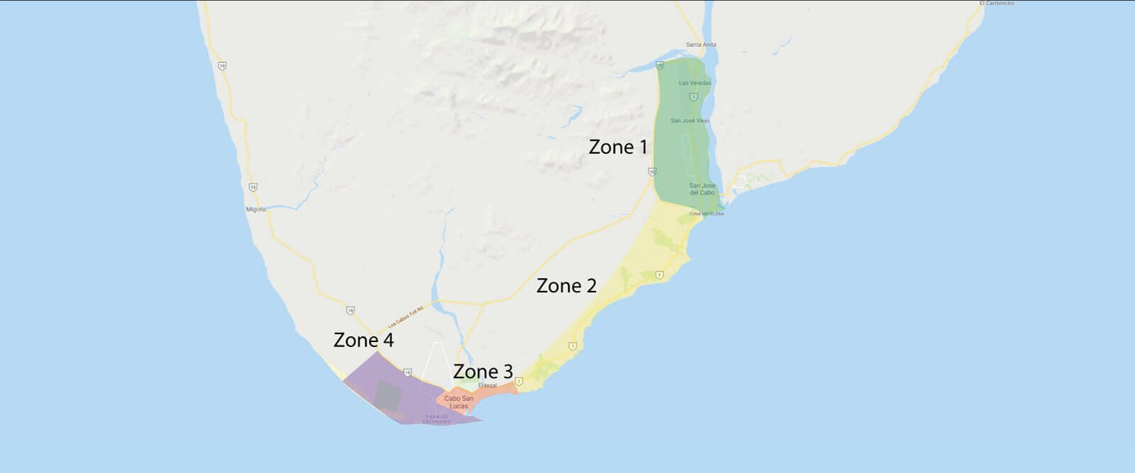 Los Cabos Hotels by Zones by Browns Private Services