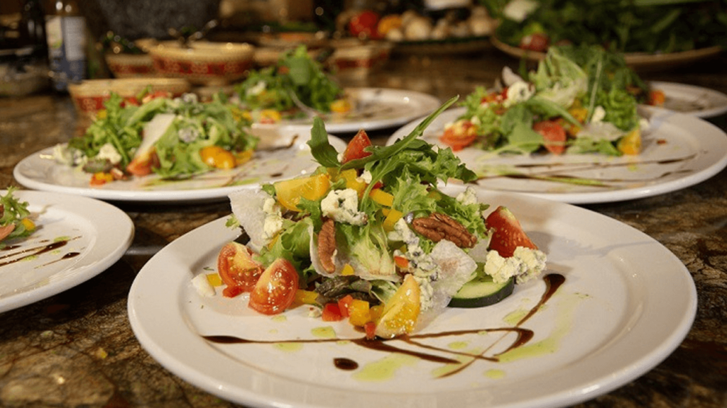 Browns Private Services Cabo Catering Menu Vegetarian Dinner