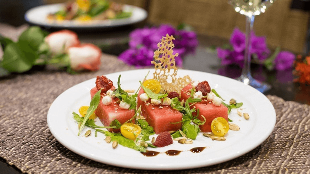 Browns Private Services Cabo Catering Menu Vegetarian Dinner 2